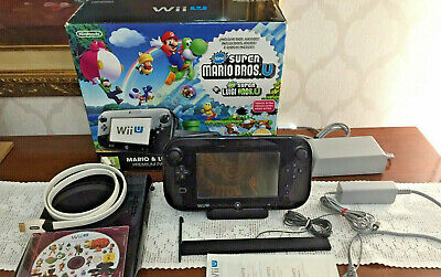 Nintendo Wii U 32gb Mario & Luigi Premium Pack No Snes Nes Switch