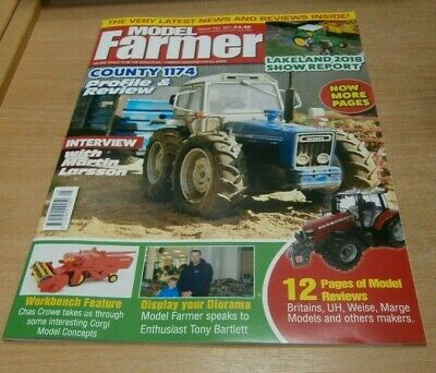 Model Farmer magazine #50 MAY 2019 Country 1174, Lakeland Show Report, Larsson &