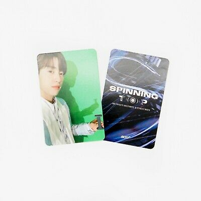 [GOT7] SPINNING TOP Album Official Photocard / Eclipse / 1pc - JINYOUNG 5
