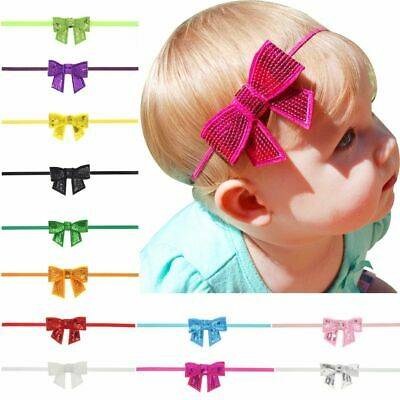 Headband Baby Toddlers Ribbon Bowknot Girl Infant Accessories Newborn Headwrap