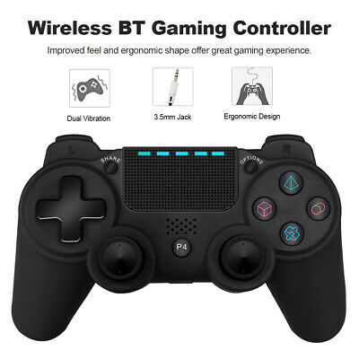 PS4 Controller Gioco Gamepad Bluetooth Senza Fili Vibrazione Audio 3.5MM G6L8