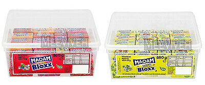 Haribo Maoam Bloxx Candy Sweets Kids Full Sealed Tub Wedding Party Favours Gift