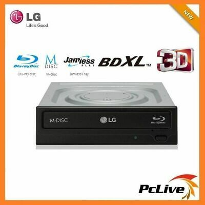 LG Blu-Ray Burner 16X Drive Burn Bluray CD DVD Disc SATA FREE PowerDVD BH16NS55