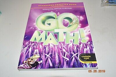 GO MATH! STANDARDS Practice Book Grade 1 : For Home or