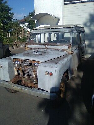LAND ROVER SERIE 2A IIa STATION WAGON 1962
