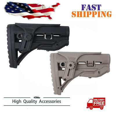 FAB Defense stock w/ Shock Absorbing With Cheek Rest -GL-SHOCK CP Us shipping OD