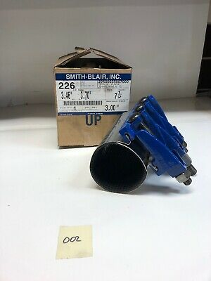 "Smith & Blair 22600035007000 7.5"" Wide OD Range 3.46""-3.70"" 3"" Nominal"