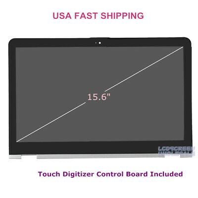 "15.6"" HP Envy x360 M6-AQ105DX M6-AQ103DX LCD Touch Screen Digiziter Sliver Frame"