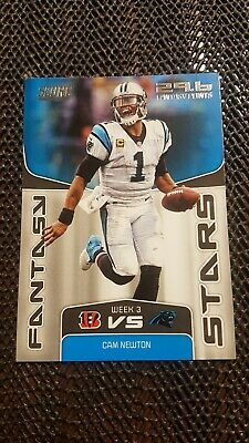 2018 SCORE Cam Newton Carolina Panthers Fantasy Stars #8