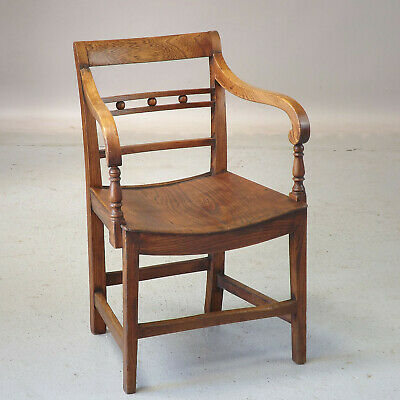 Antique East Anglian Chair (delivery £40 ) Elm Button Back Armchair