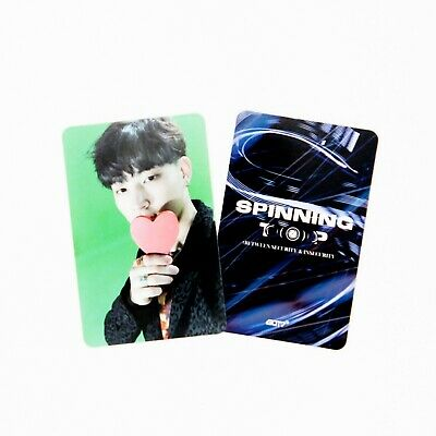 [GOT7] SPINNING TOP Official Photocard / Eclipse / 1pc / JB 7