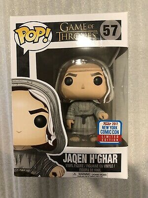 Funko Pop Game Of Thrones Jaquen H'Ghar NYCC 2017 LIMITED EDITION *RARE*