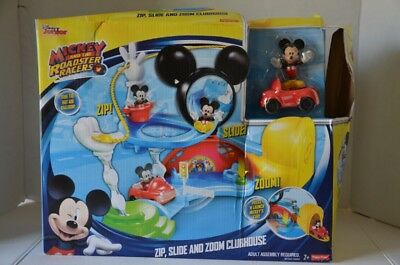 Fisher-Price Disney Mickey Mouse Clubhouse Fermeture Slide et Zoom Neuf