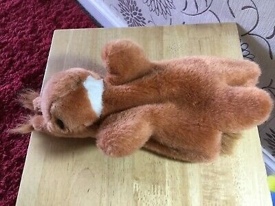 Red Squirrel Hand Puppet Soft Toy Plush 10 inches