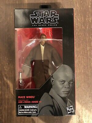 "Star Wars The Black Series Mace Windu Jedi Master #82 /""RotS/"" 6/"" inch DA HASBRO"