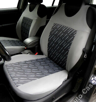 2 Grey Seat Covers For Peugeot Boxer Export Partner Tapee Traveller
