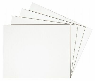 Alvin Pw2030-25 White On White Presentation Board 20 X 30