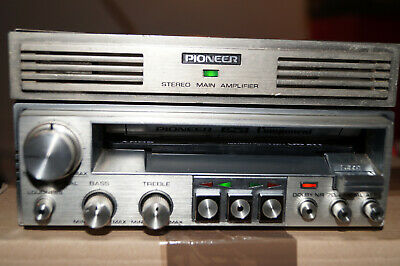 Pioneer KP-77G+GM-4  Component Amplifier with original wire plug  vintage NOS