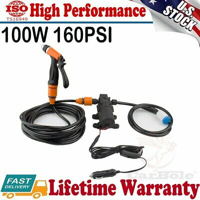 PRO PORTABLE 100W 160PSI Pressure Washer Power Pump Car Wash