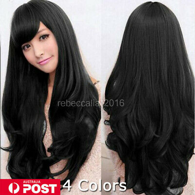 New Style Fashion Sexy Women Girl Wavy Curly Long Hair Full Cosplay Party Wigs I