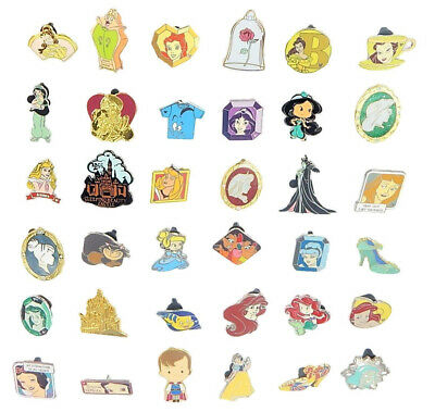 Princess Theme 6 Disney Park Trading Pins ~ Brand NEW
