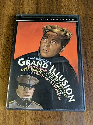 Grand Illusion (DVD, 1999, Criterion Collection) LIKE - NEW