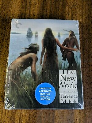 The New World Blu-Ray 2005 (The Criterion Collection) LIKE NEW