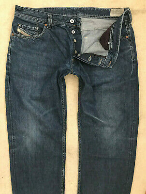 477ccaac Diesel Larkee-Relaxed Denim Jeans! Mens W38/L34 Blue! Comfort Straight Fit