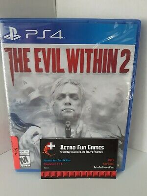 The Evil Within 2 PS4 Factory Sealed Free Shipping (Sony PlayStation 4)