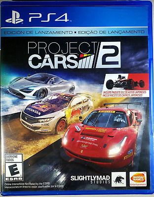 Project Cars 2 Day One Edition PS4 (Sony PlayStation 4, 2017) Brand New