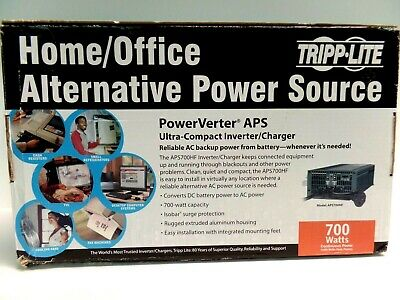 Trip-Lite Home Office Alternative Power Source DC/AC Converter charger