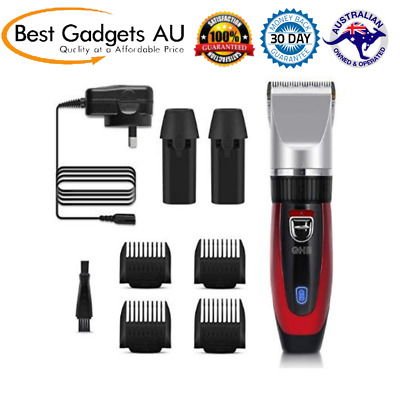 GHB Hair Clipper Rechargeable Trimmer Electric Cordless Haircut Kit Ceramic NEW