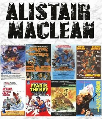 MacLean Collection Vaccares, Hostage Tower, Golden Rendezvous, Bear Island +more