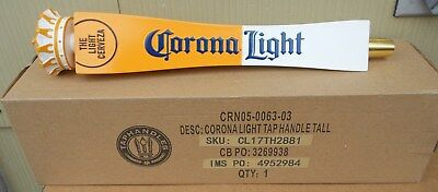 Corona Light Cerveza Crown Figural Beer Tap Handle New In Box 12 Inch Mexico