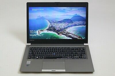 "Toshiba Portege Z30-A 13.3"" Laptop Intel Core i5-4300U 4GB RAM 128GB SSD Great"