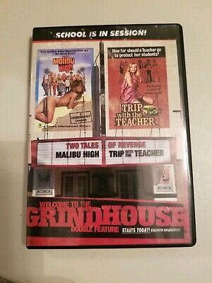 Welcome To The Grindhouse: Malibu High/Trip with the Teacher (DVD, 2007) 1979