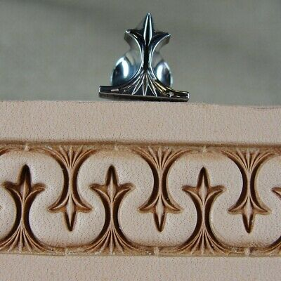 Stainless Steel Barry King - #3 Crown Serpentine Border Stamp (Leather Tool)