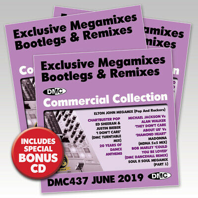 DMC COMMERCIAL COLLECTION 422 March 2018 Brand New 3Cd Dj