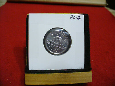 2012  Canada 5 Cent Coin  Nickel  Proof Like  High  Grade  Sealed  See Photos