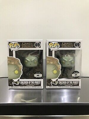 Funko POP Game of Thrones: Metallic Children of the Forest HBO NYCC w/ protector