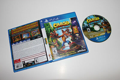 Crash Bandicoot N. Sane Trilogy Video Game (Sony PlayStation 4, 2017)