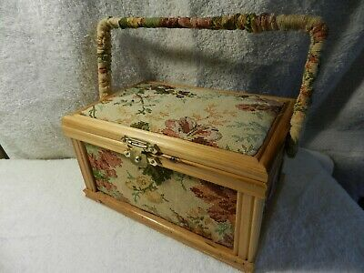 sewing basket/ kit (loaded with goodies )