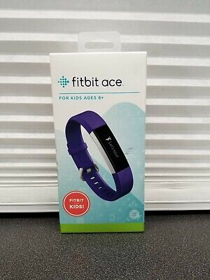 Fitbit Ace Power Activity Tracker - Purple/Stainless Steel