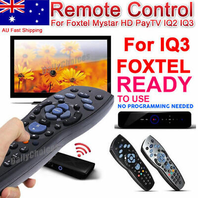 Foxtel Replacement Remote Control For Foxtel Mystar HD PayTV IQ IQ2 IQ3 IQ4 OZ