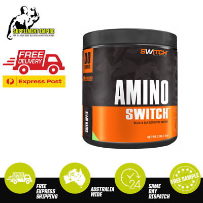 Switch Nutrition Amino Switch Recovery Reduce stress Energy 30 Serves