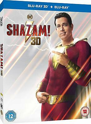 Shazam! (3D + 2D Blu-ray) NEW / SEALED - PRE-ORDER