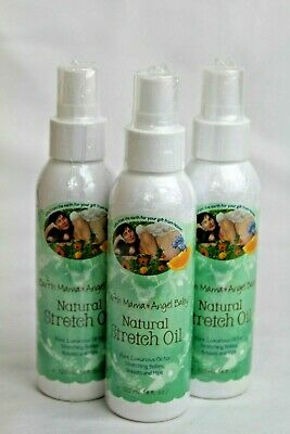 Earth Mama Angel Baby Natural Stretch Oil 4 ounce Spray All Natural Sealed 4/18