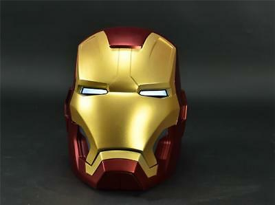 [Remote Metal Version] CATTOYS 1/1 Colorized All Metal Made Iron Man MK42 Helmet