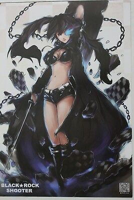 Black Rock Shooter Poster Plakate anime  cosplay manga vocaloid Miku Hatsune