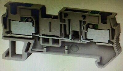 2x Schneider LINERGY CARRIER DISC BLOCKS 4mm² 20A Single-Level 1x1 Push-In GREY